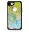 Yellow Green 197 Absorbed Watercolor Texture - iPhone 7 or 8 OtterBox Case & Skin Kits