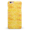 Yellow Multi Watercolor Chevron iPhone 6/6s or 6/6s Plus INK-Fuzed Case