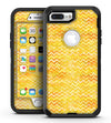 Yellow Multi Watercolor Chevron - iPhone 7 Plus/8 Plus OtterBox Case & Skin Kits