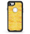 Yellow Multi Watercolor Chevron - iPhone 7 or 8 OtterBox Case & Skin Kits