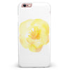 Yellow Orange Watercolored Hibiscus iPhone 6/6s or 6/6s Plus INK-Fuzed Case