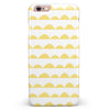 Yellow Rolling Hills iPhone 6/6s or 6/6s Plus INK-Fuzed Case