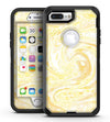 Yellow Slate Marble Surface V21 - iPhone 7 Plus/8 Plus OtterBox Case & Skin Kits