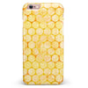 Yellow Sorted Large Watercolor Polka Dots iPhone 6/6s or 6/6s Plus INK-Fuzed Case