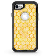 Yellow Sorted Large Watercolor Polka Dots - iPhone 7 or 8 OtterBox Case & Skin Kits