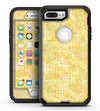 Yellow Textured Triangle Pattern - iPhone 7 Plus/8 Plus OtterBox Case & Skin Kits