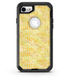 Yellow Textured Triangle Pattern - iPhone 7 or 8 OtterBox Case & Skin Kits