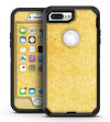 Yellow Vertical Damask Pattern - iPhone 7 Plus/8 Plus OtterBox Case & Skin Kits