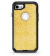 Yellow Vertical Damask Pattern - iPhone 7 or 8 OtterBox Case & Skin Kits