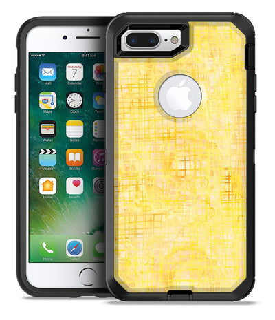 Yellow Watercolor Cross Hatch - iPhone 7 Plus/8 Plus OtterBox Case & Skin Kits