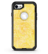 Yellow Watercolor Cross Hatch - iPhone 7 or 8 OtterBox Case & Skin Kits
