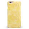 Yellow Watercolor Polka Dots iPhone 6/6s or 6/6s Plus INK-Fuzed Case