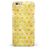 Yellow Watercolor Ring Pattern iPhone 6/6s or 6/6s Plus INK-Fuzed Case