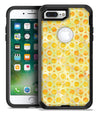 Yellow Watercolor Ring Pattern - iPhone 7 or 7 Plus Commuter Case Skin Kit