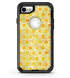 Yellow Watercolor Ring Pattern - iPhone 7 or 8 OtterBox Case & Skin Kits