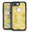 Yellow Watercolor Stripes - iPhone 7 Plus/8 Plus OtterBox Case & Skin Kits