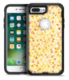 Yellow Watercolor Triangle Pattern - iPhone 7 or 7 Plus Commuter Case Skin Kit
