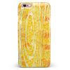 Yellow Watercolor Woodgrain iPhone 6/6s or 6/6s Plus INK-Fuzed Case