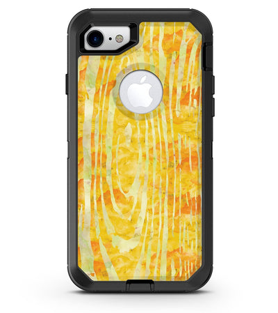 Yellow Watercolor Woodgrain - iPhone 7 or 8 OtterBox Case & Skin Kits