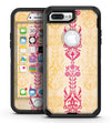 Yellow and Pink Floral Rococo Pattern - iPhone 7 Plus/8 Plus OtterBox Case & Skin Kits
