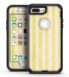 Yellow and White Verticle Stripes - iPhone 7 Plus/8 Plus OtterBox Case & Skin Kits