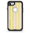Yellow and White Verticle Stripes - iPhone 7 or 8 OtterBox Case & Skin Kits