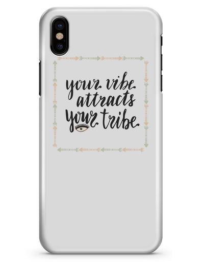 Your Vibe Attracts Your Tribe - iPhone X Clipit Case