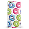 Yummy Colored Donut Galore iPhone 6/6s or 6/6s Plus INK-Fuzed Case