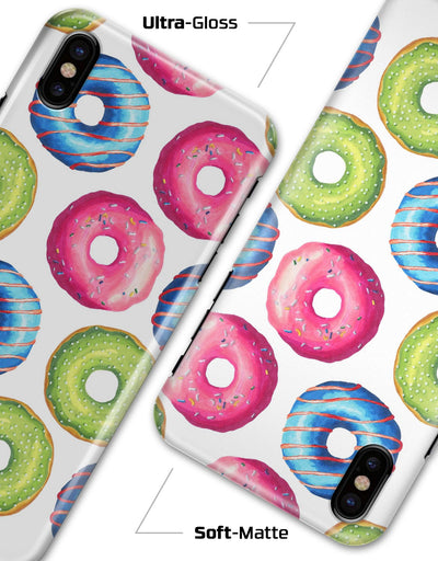 Yummy Colored Donut Galore - iPhone X Clipit Case