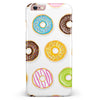 Yummy Colored Donuts iPhone 6/6s or 6/6s Plus INK-Fuzed Case