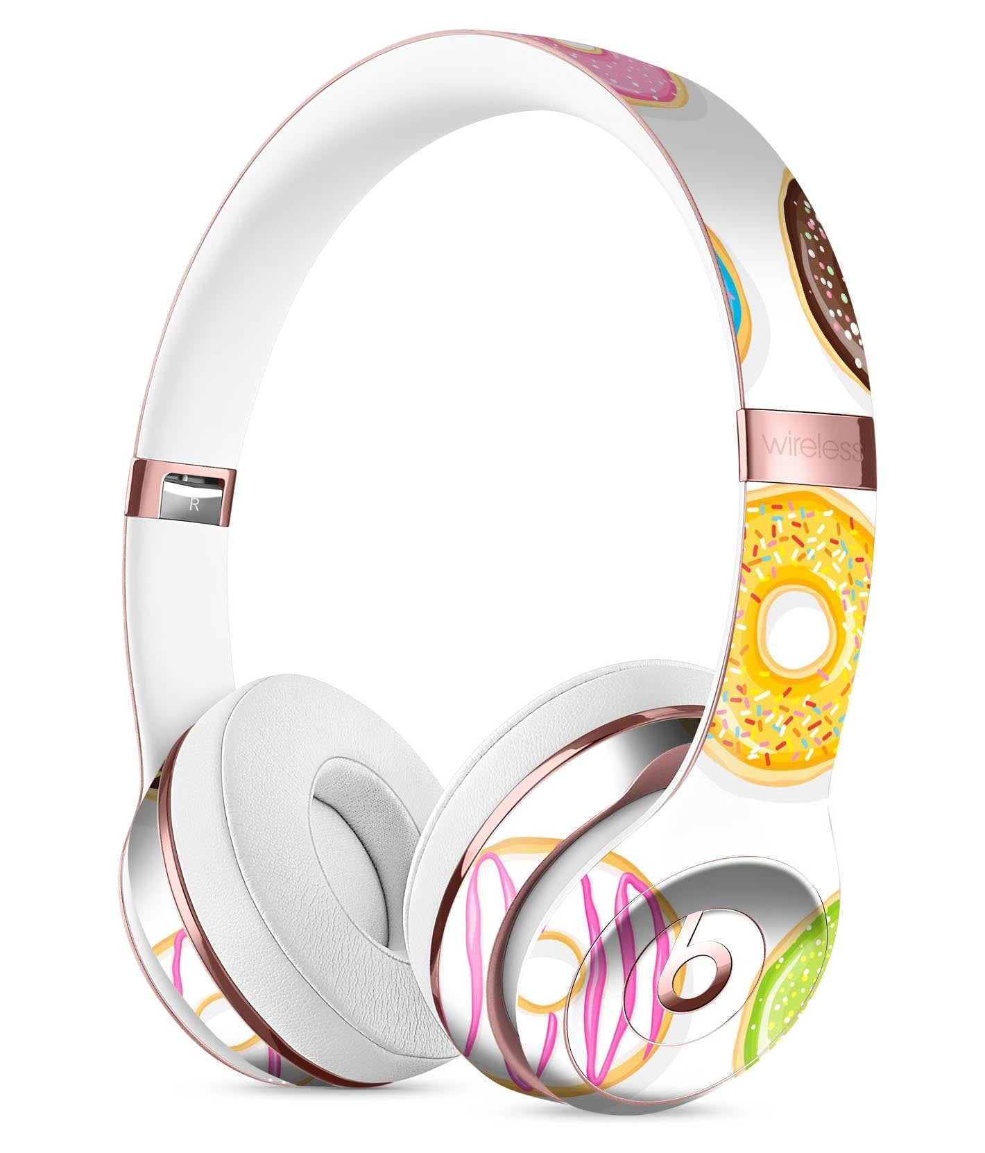 Yummy Colored Donuts Full Body Skin Kit For The Beats By Dre Solo 3 Wi Theskindudes