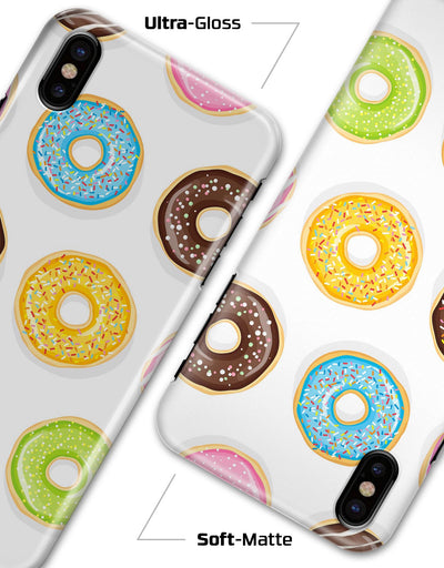 Yummy Colored Donuts - iPhone X Clipit Case