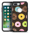 Yummy Colored Donuts v2 - iPhone 7 or 7 Plus Commuter Case Skin Kit