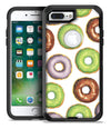 Yummy Donuts Galore - iPhone 7 or 7 Plus Commuter Case Skin Kit