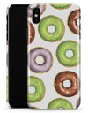 Yummy Donuts Galore - iPhone X Clipit Case