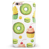 Yummy Galore Bakery Green Treats V1 iPhone 6/6s or 6/6s Plus INK-Fuzed Case
