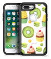 Yummy Galore Bakery Green Treats V1 - iPhone 7 or 7 Plus Commuter Case Skin Kit