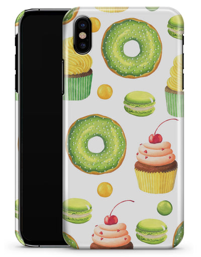 Yummy Galore Bakery Green Treats V1 - iPhone X Clipit Case