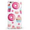 Yummy Galore Bakery Treats iPhone 6/6s or 6/6s Plus INK-Fuzed Case