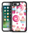 Yummy Galore Bakery Treats - iPhone 7 or 7 Plus Commuter Case Skin Kit