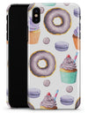 Yummy Galore Bakery Treats v3 - iPhone X Clipit Case