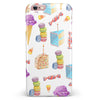 Yummy Galore Bakery Treats v6 iPhone 6/6s or 6/6s Plus INK-Fuzed Case