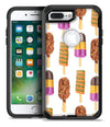 Yummy Galore Ice Cream Treats - iPhone 7 or 7 Plus Commuter Case Skin Kit