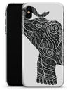 Zendoodle Elephant - iPhone X Clipit Case
