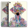 "Zendoodle Sacred Elephant - Full Body Skin Decal for the Apple iPad Pro 12.9"", 11"", 10.5"", 9.7"", Air or Mini (All Models Available)"