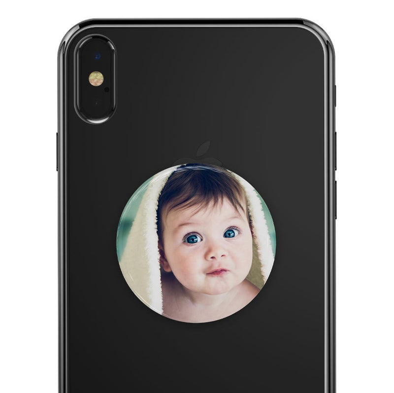 Custom Add Your Own Photo, Design or Image - Skin Decal Kit for the PopSockets Smartphone & Tablet Grip Stand