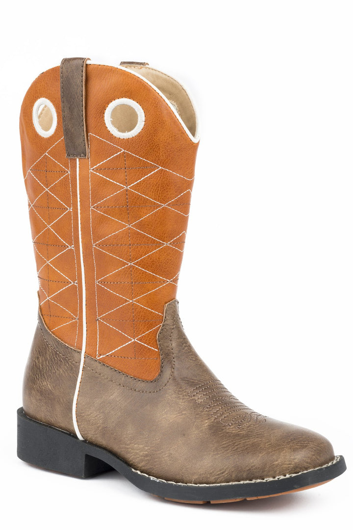 09-119-1224-2202 Roper Big Kids Boone Boots