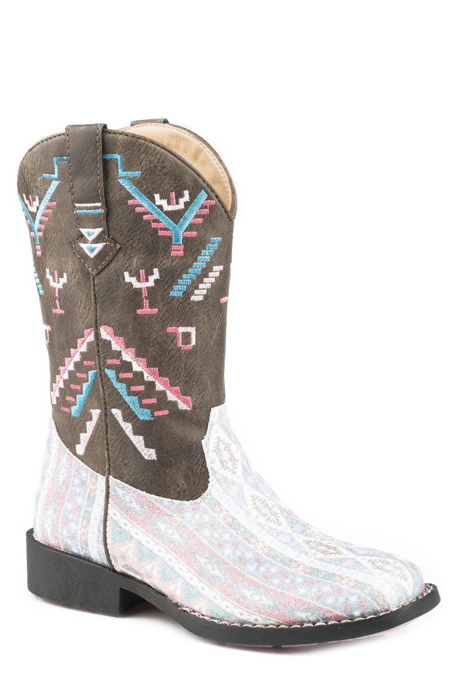 09-017-1225-2073 Glitter Azteka Brown Toddler Boot