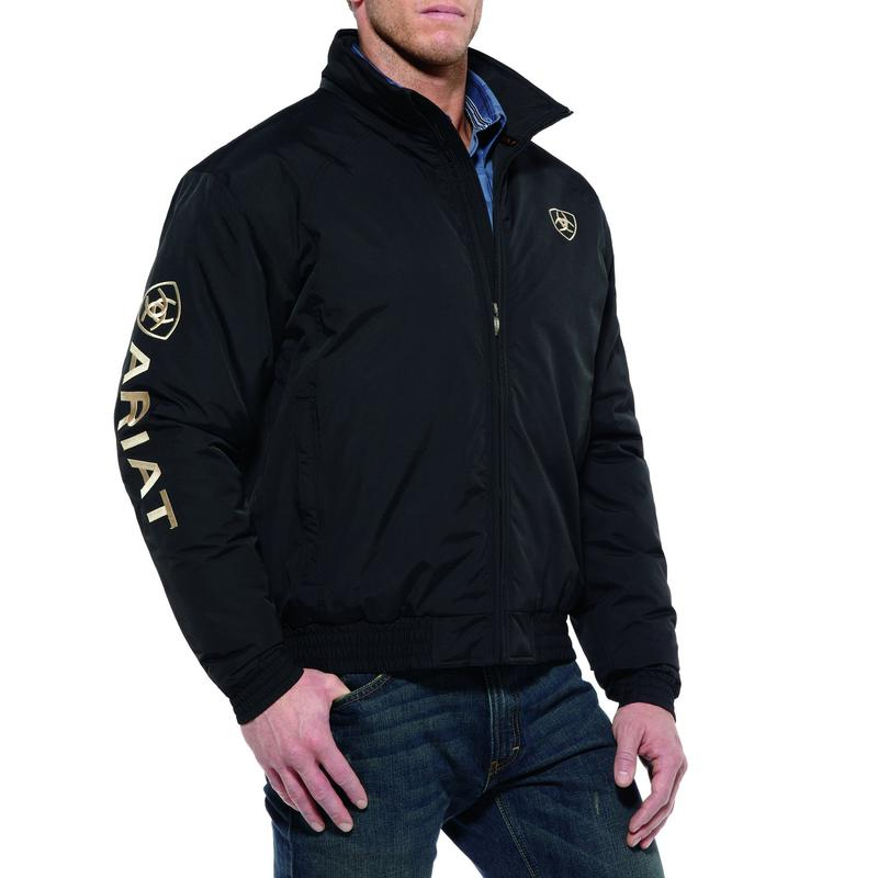 10009945 Mens Ariat Team Jacket - Black