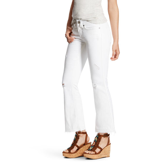 10021907 Ariat Ladies REAL Denim Cropped Jeans